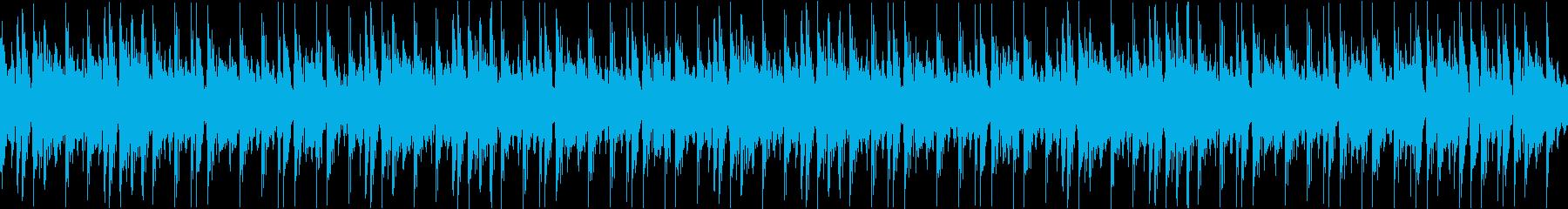 SF_ゲームでありそうなBGMの再生済みの波形