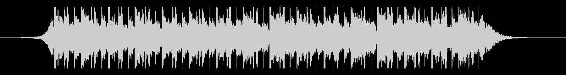 ラマダン(25秒)の未再生の波形