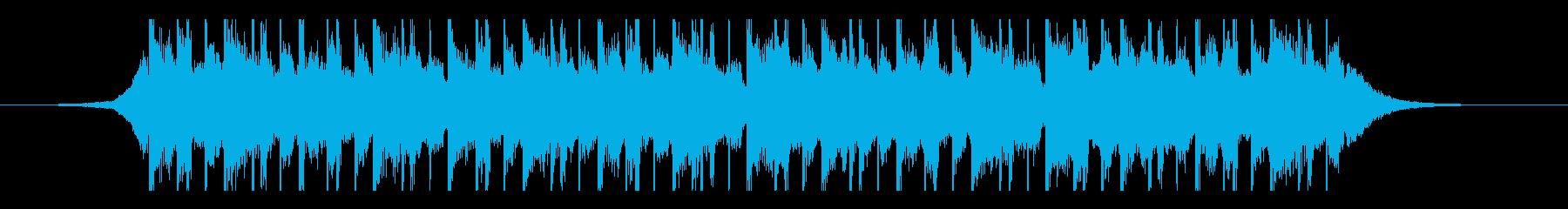 ラマダン(25秒)の再生済みの波形