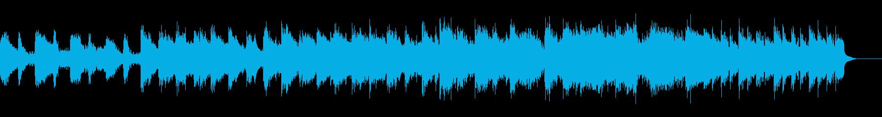 不気味な雰囲気の幻想楽曲の再生済みの波形
