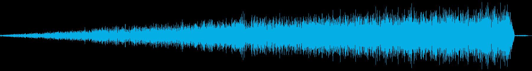 「シャーーー」の再生済みの波形