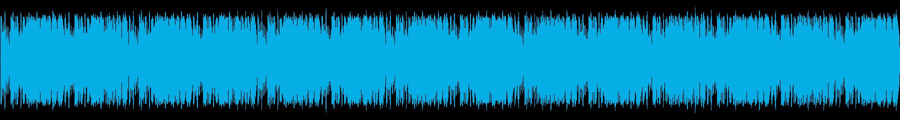 エネルギッシュでアグレッシブな感触...の再生済みの波形
