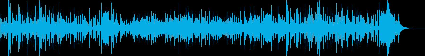 父の日をテーマにした楽曲の再生済みの波形