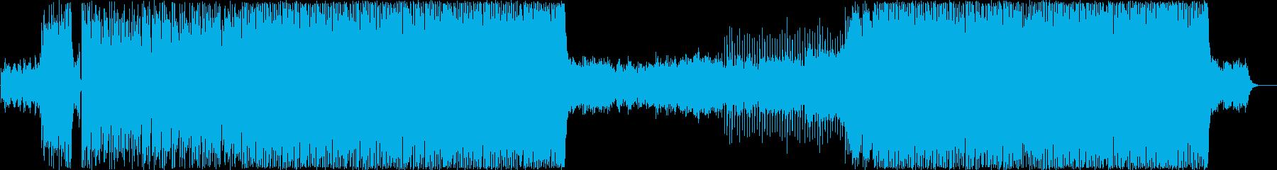 EDM【生演奏】多幸感、輝き、未来、希望の再生済みの波形