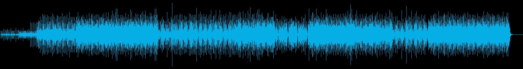 ダンス「ALIVE」の再生済みの波形