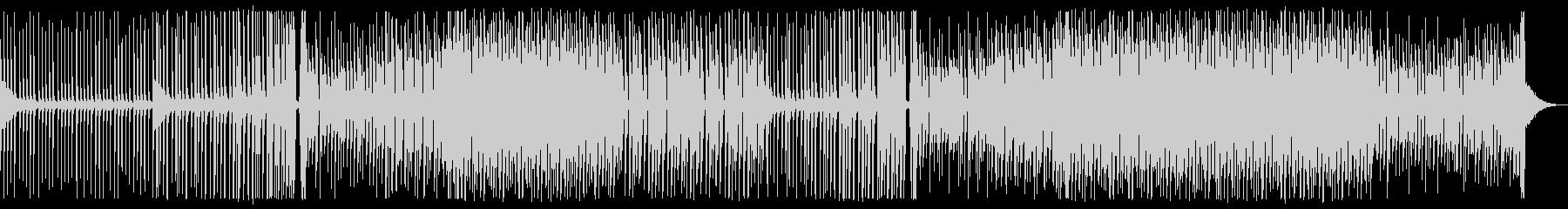 爽やかなEDMの未再生の波形