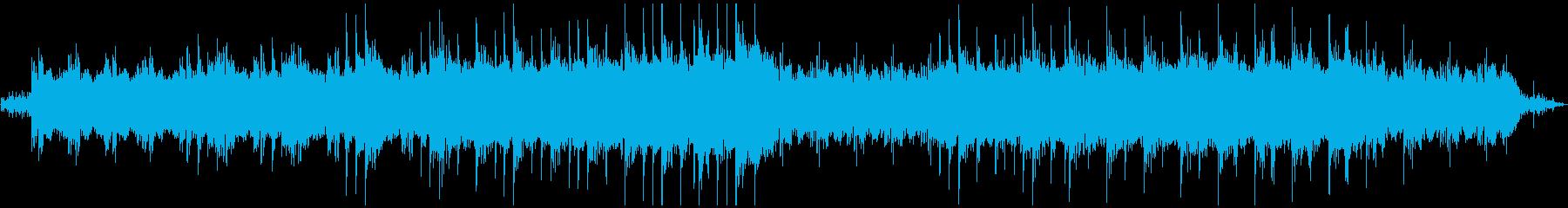 水音とピアノのヒーリング・ミュージックの再生済みの波形