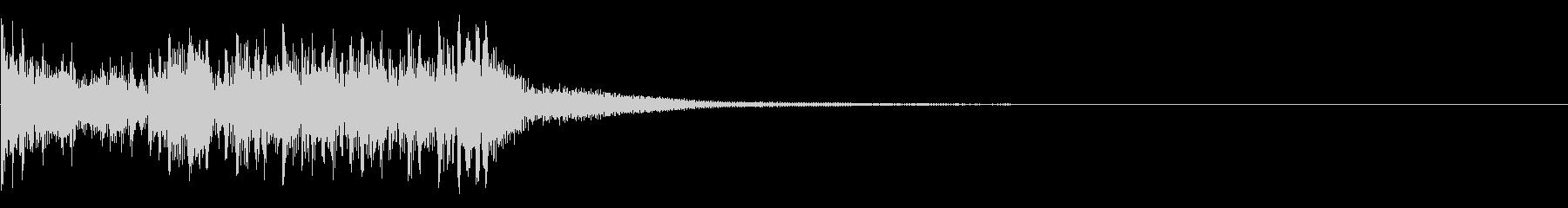 ティンパニ:ファンファーレロール、...の未再生の波形