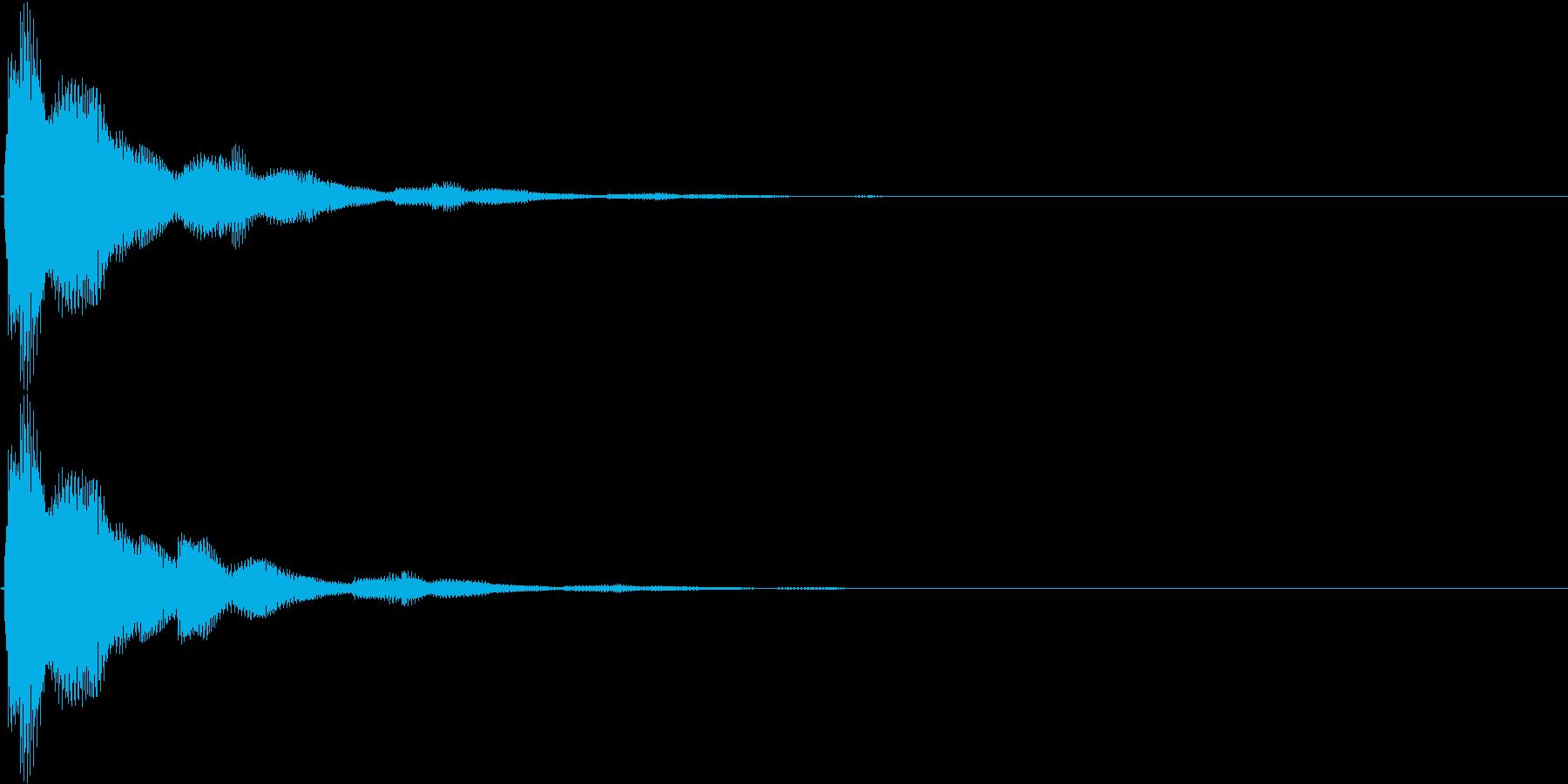 ピローンピローン…(ボタン音・スタート)の再生済みの波形