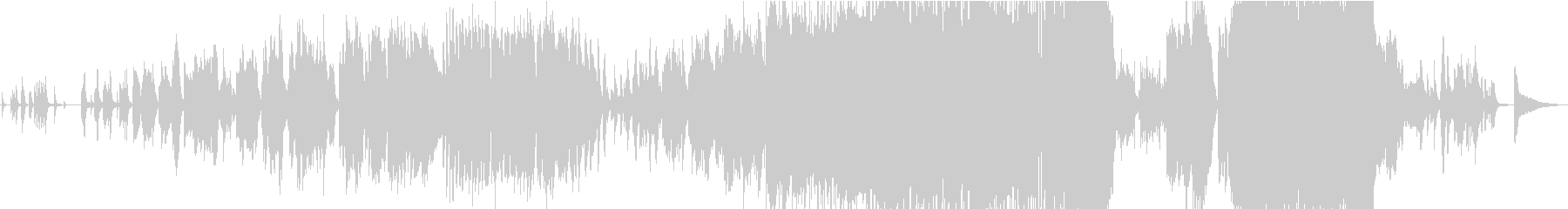 Impressive ballad of live trumpet's unreproduced waveform