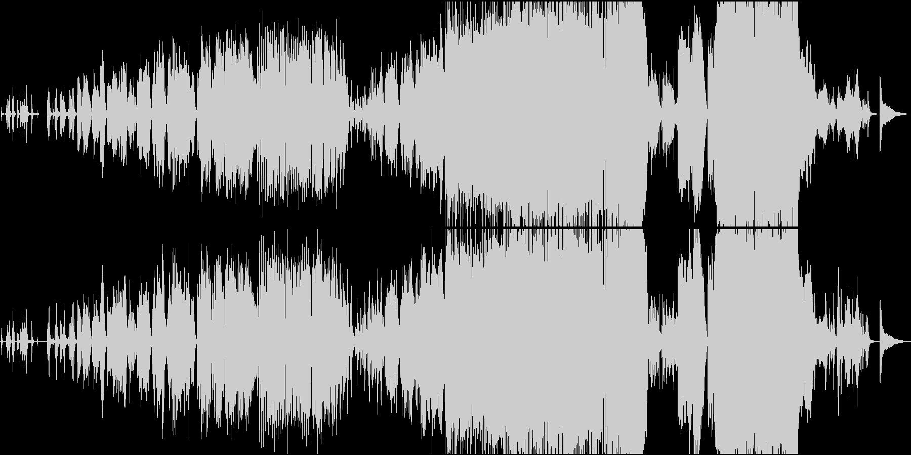 生演奏トランペットの感動バラードの未再生の波形