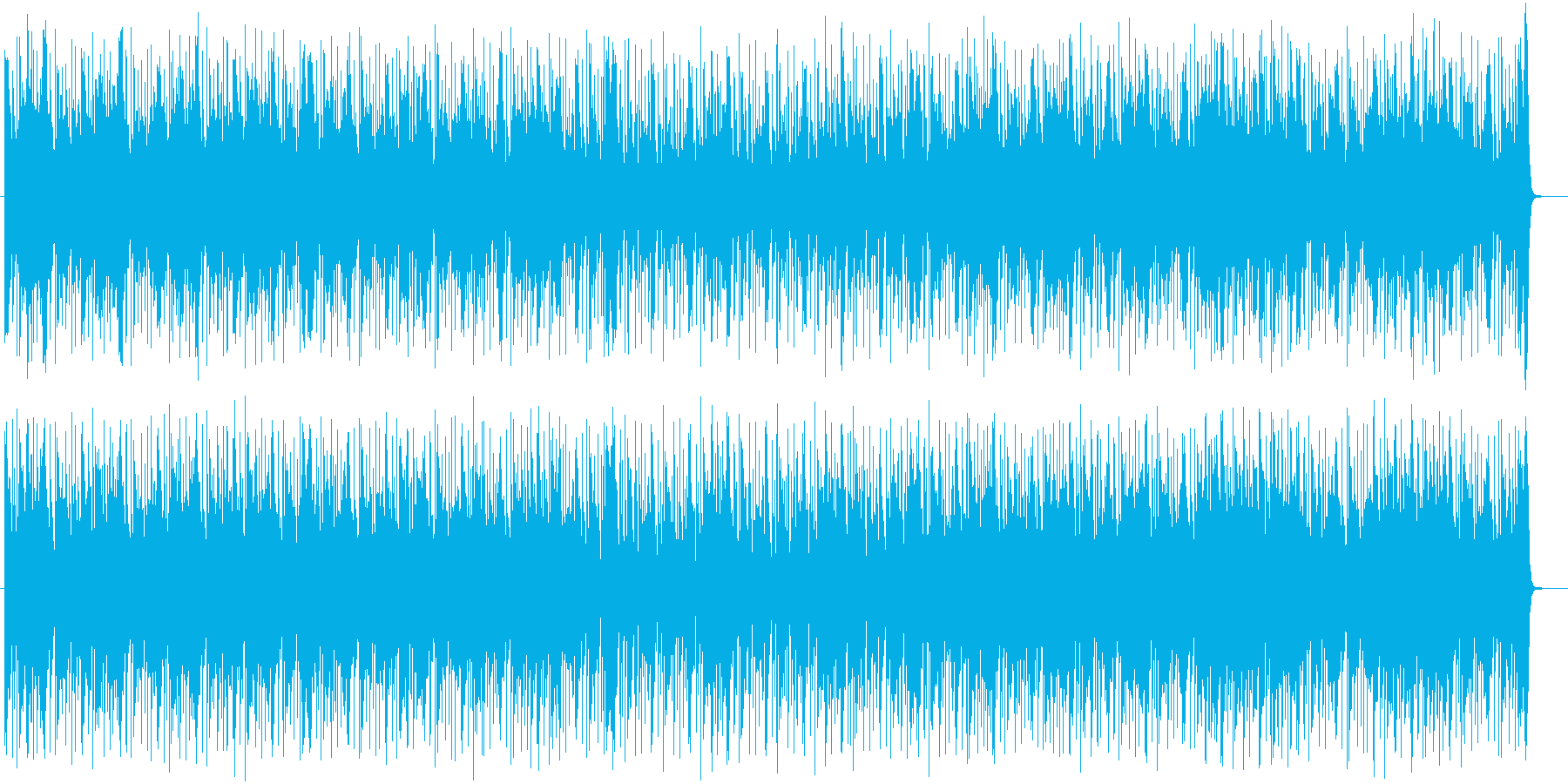 躍動感ある神秘的なシンセテクノサウンドの再生済みの波形