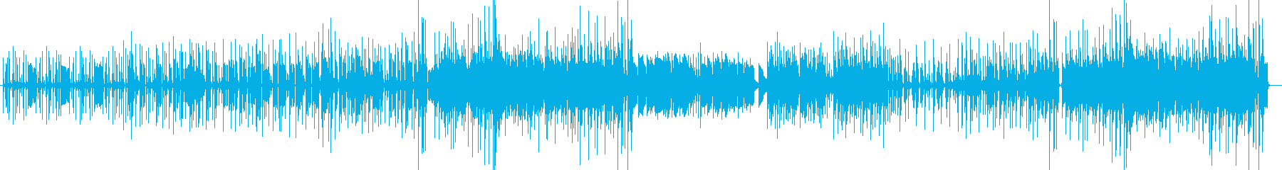 軽快な雰囲気の劇伴系ファンクポップの再生済みの波形