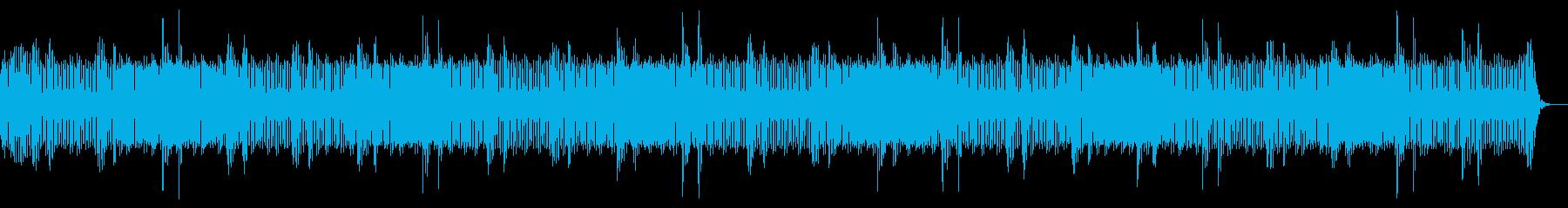【ホラー】不気味な夏の夜の外の音の再生済みの波形