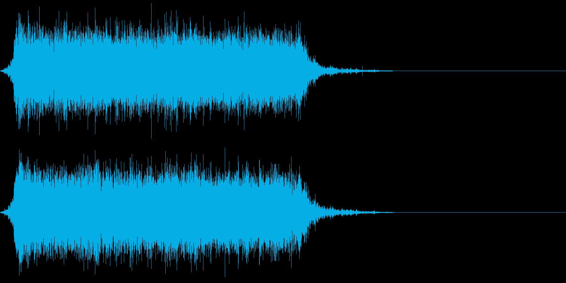 ジャー☆蛇口から水が流れる音 その2の再生済みの波形