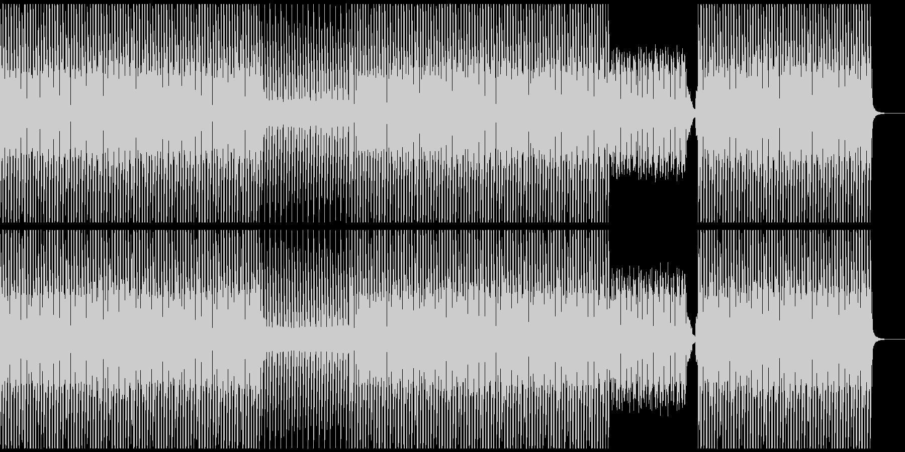 パワフルでアップテンポなミニマルテクノの未再生の波形