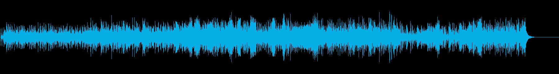 南国のゆるいBGMの再生済みの波形