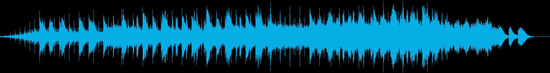 動画 サスペンス 説明的 希望的 ...の再生済みの波形