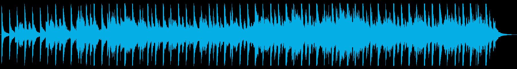アパレルCMに合う4つ打ちシンセポップの再生済みの波形