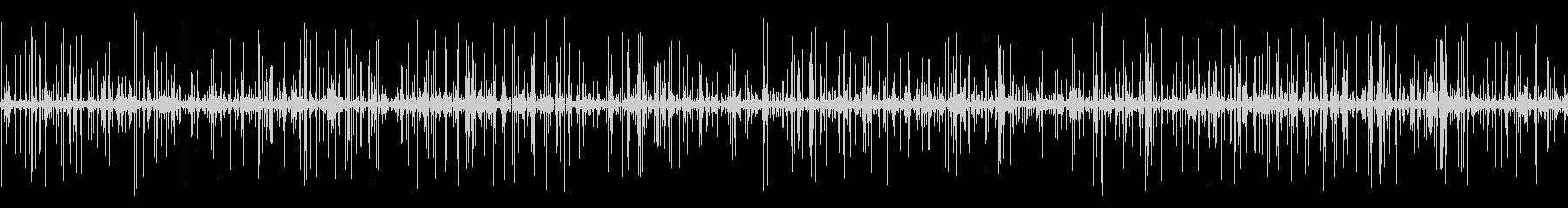 LPレコードプレーヤー:33 RP...の未再生の波形