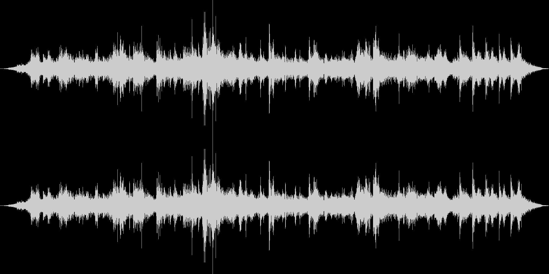 里山の鳥の声(環境音)の未再生の波形