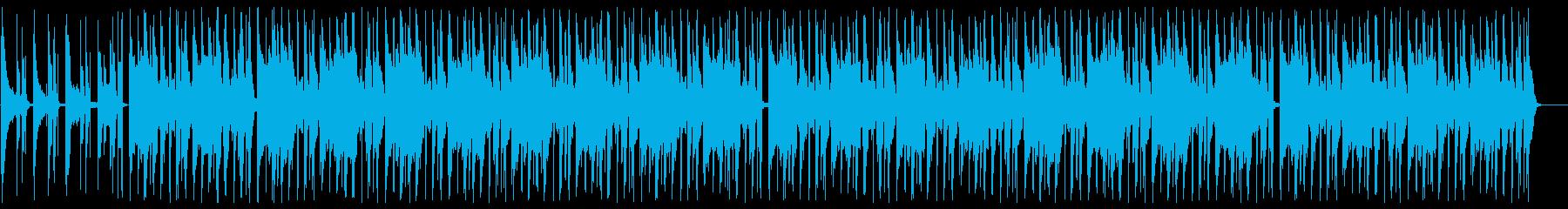 明るい雰囲気のLoFi Hip Hopの再生済みの波形