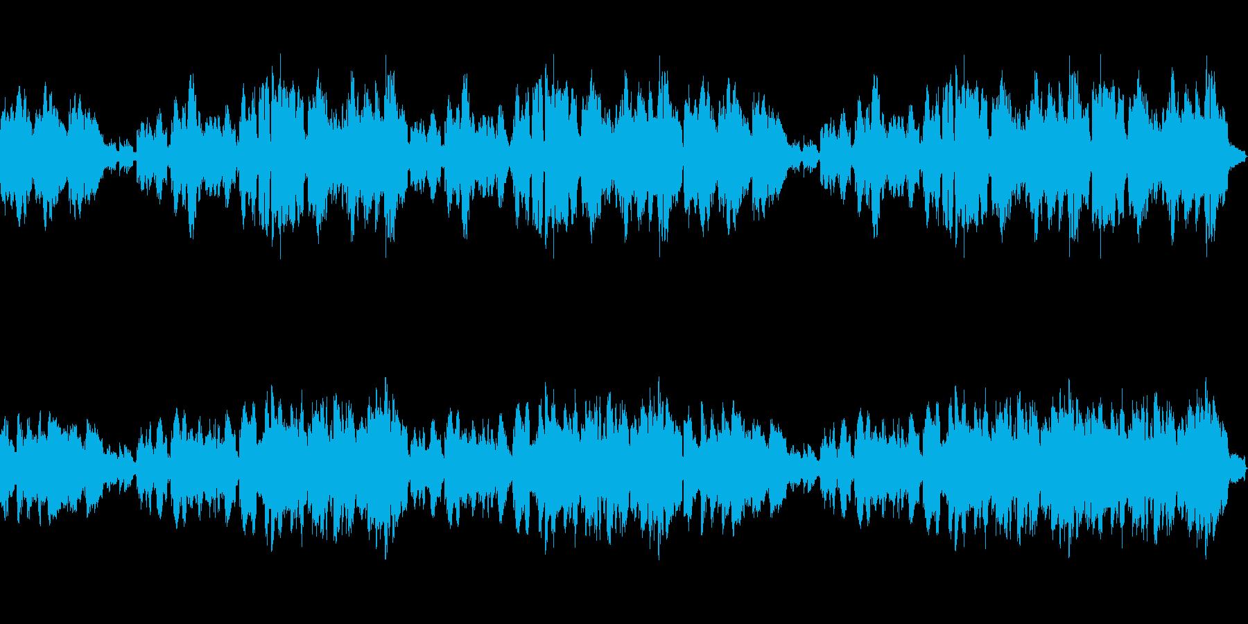 優しいメロディアスなクラリネットとピアノの再生済みの波形