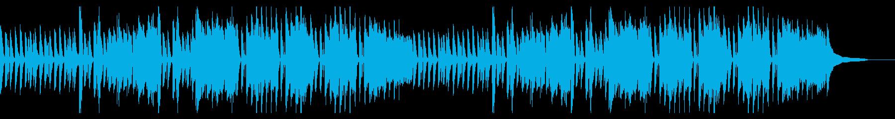 日常系ほのぼのBGMの再生済みの波形