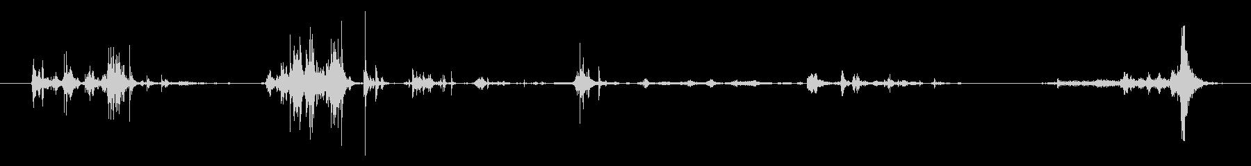 電子レジスター:引き出しから変更を...の未再生の波形
