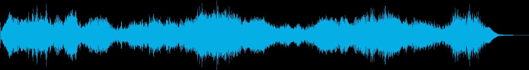 ホエールウォッチャードローンの再生済みの波形