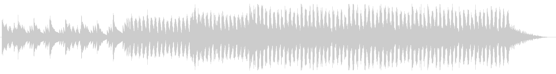 【EDM】ドライブする時に流れてそうな曲の未再生の波形