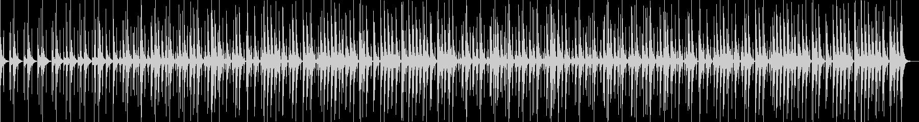 ほのぼの楽しいおしゃれでかわいい曲02の未再生の波形