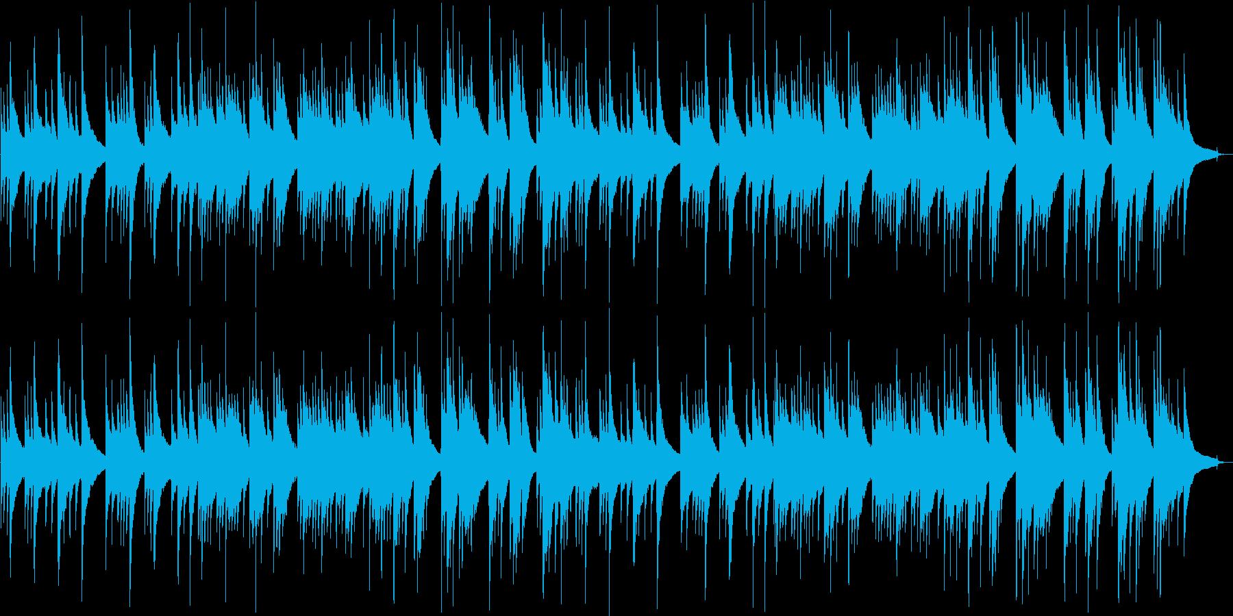 切ないギター・シンセサウンドの再生済みの波形