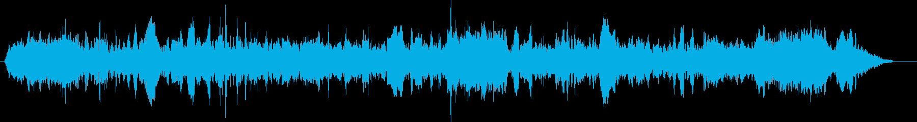 ブルドーザー;開始、ブラシで駆動;...の再生済みの波形