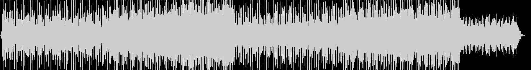 深いバックグラウンドミュージックの未再生の波形