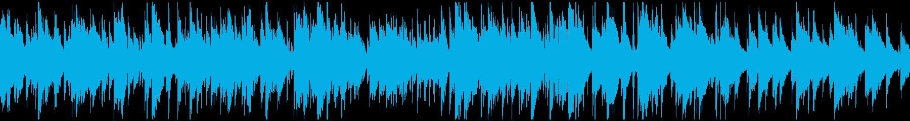 ゆったりピュアな綺麗系ジャズ ※ループ版の再生済みの波形