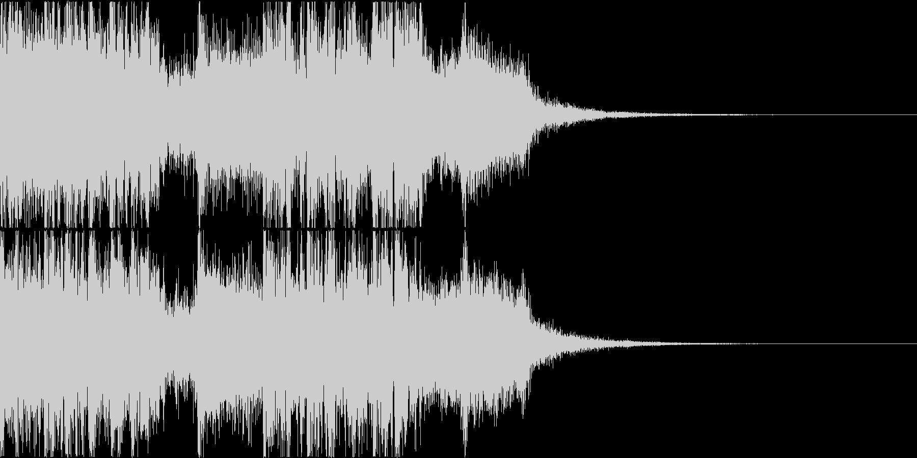 三味線・箏・尺八・和太鼓・ジングル08の未再生の波形