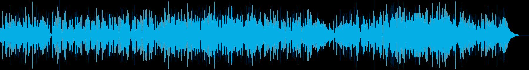 アコギ バンド切ない系の曲の再生済みの波形