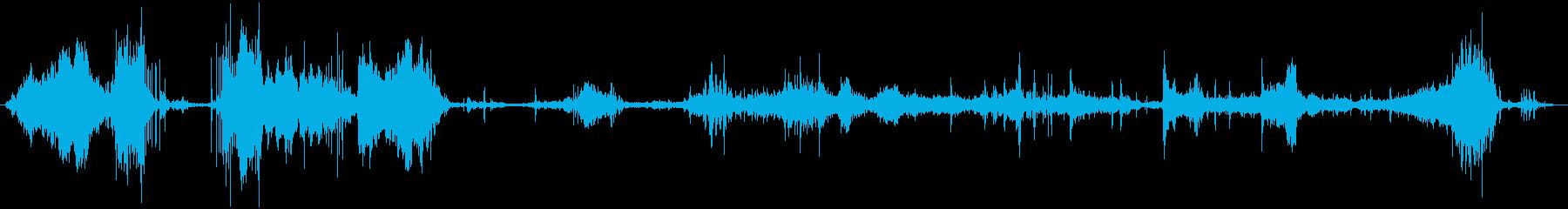 ラップトップコンピューター:ソフト...の再生済みの波形