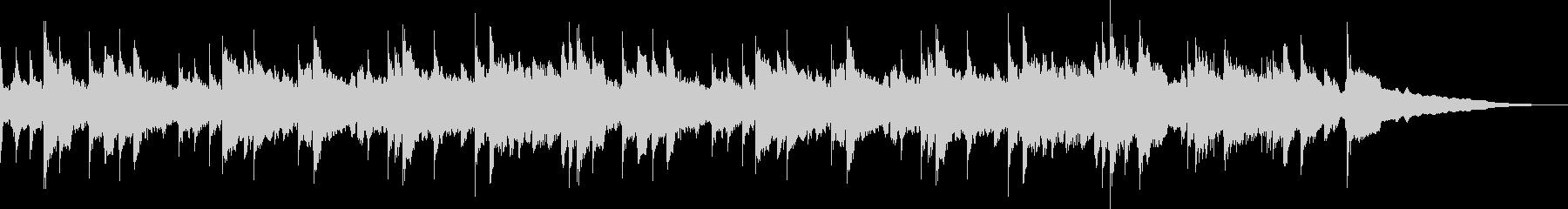 アコギの素直な音色を活かした多重録音の未再生の波形