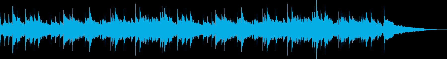 アコギの素直な音色を活かした多重録音の再生済みの波形