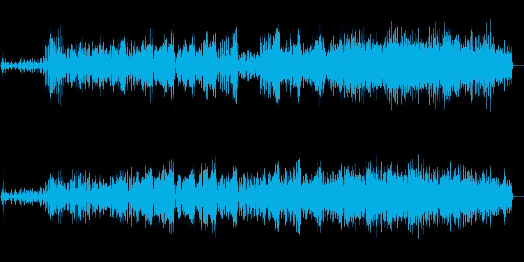 夜更けの近未来型アーバンビートポップの再生済みの波形