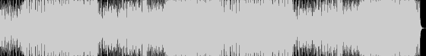 爽やかな和風メロディーのEDMの未再生の波形