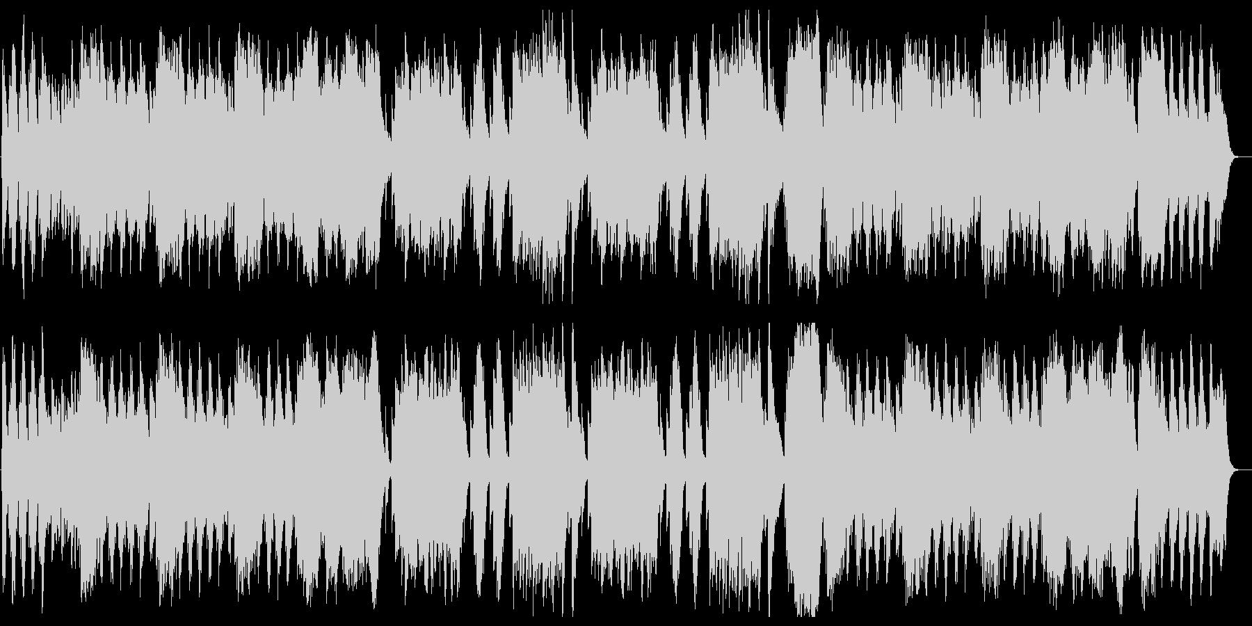 春の声(J.シュトラウス2世)の未再生の波形