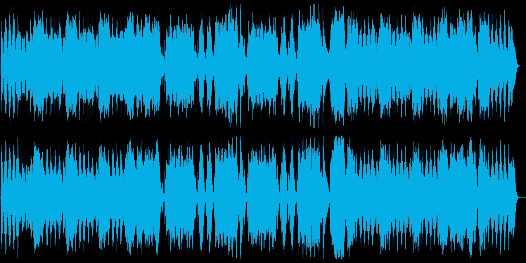 春の声(J.シュトラウス2世)の再生済みの波形
