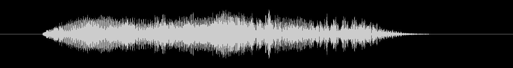 鳴き声 男性コンバットヒットハード18の未再生の波形