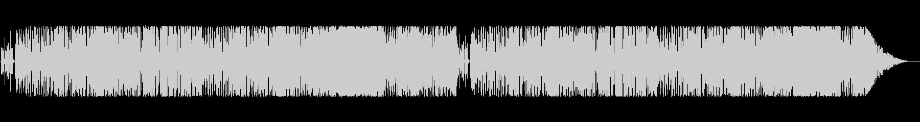 エッジの効いたファンク・フュージョン風の未再生の波形