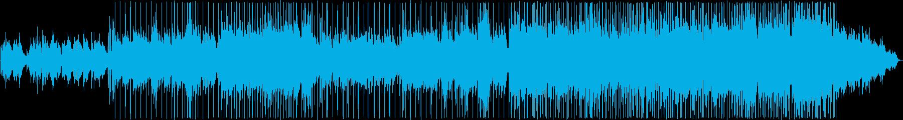 宇宙的な雰囲気のバラードの再生済みの波形