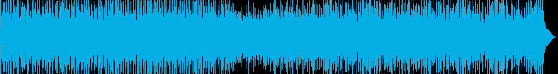 希望・かっこいいロック・オープニング向けの再生済みの波形