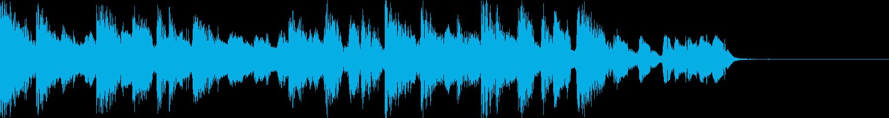 ラフでダウンテンポのテクノ/ロック...の再生済みの波形